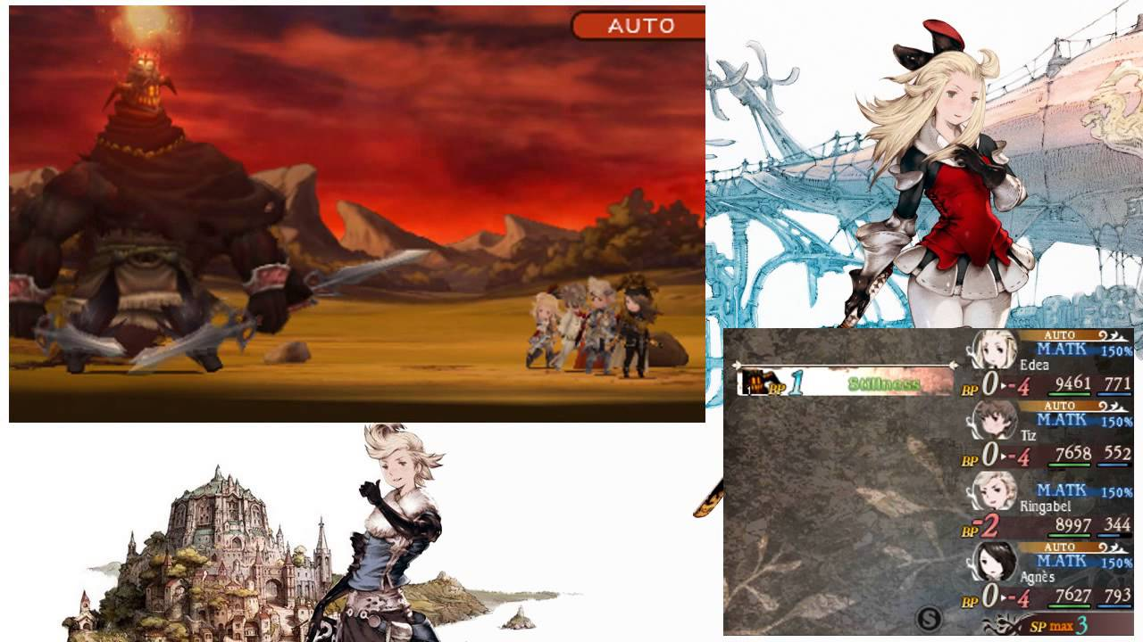 Bravely Default Jobs Guide – Stats, Abilities, Level and Cost