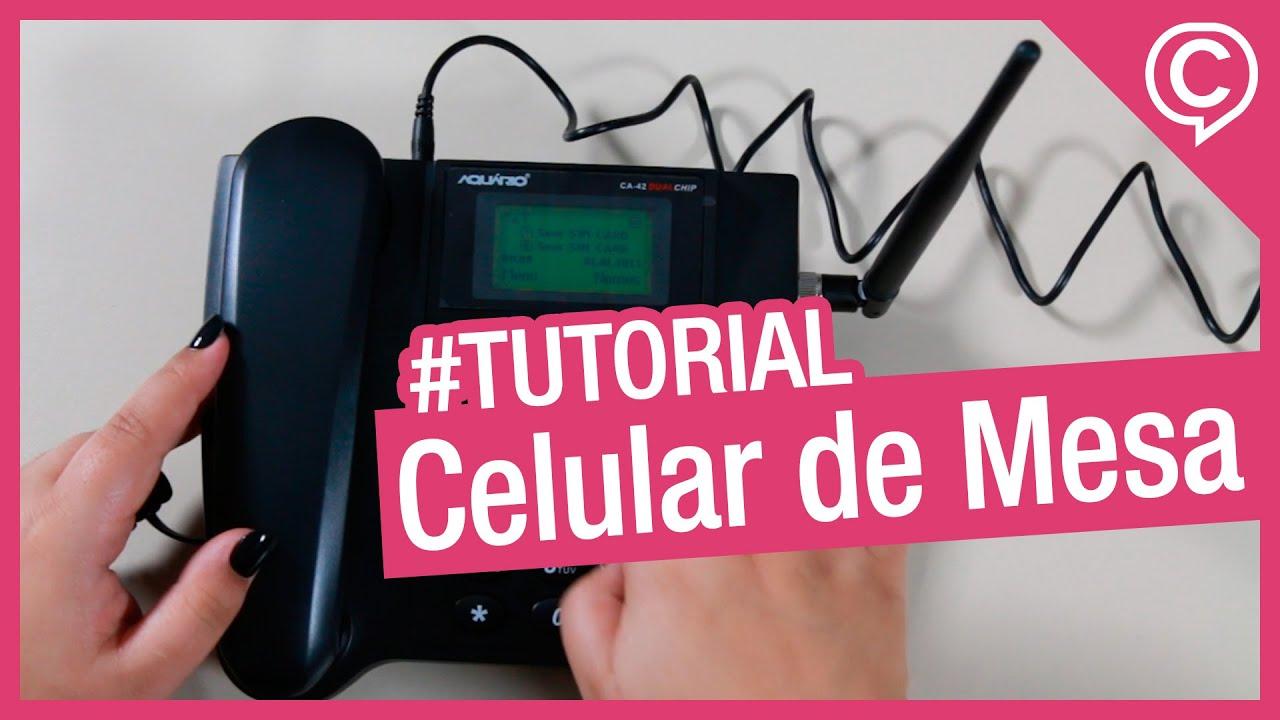 Aquário Celular de Mesa CA-42 Dual-Chip [Tutorial e Unboxing] – Cissa Magazine