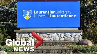 Laurentian University cuts over 60 programs, fires professors due to insolvency issues