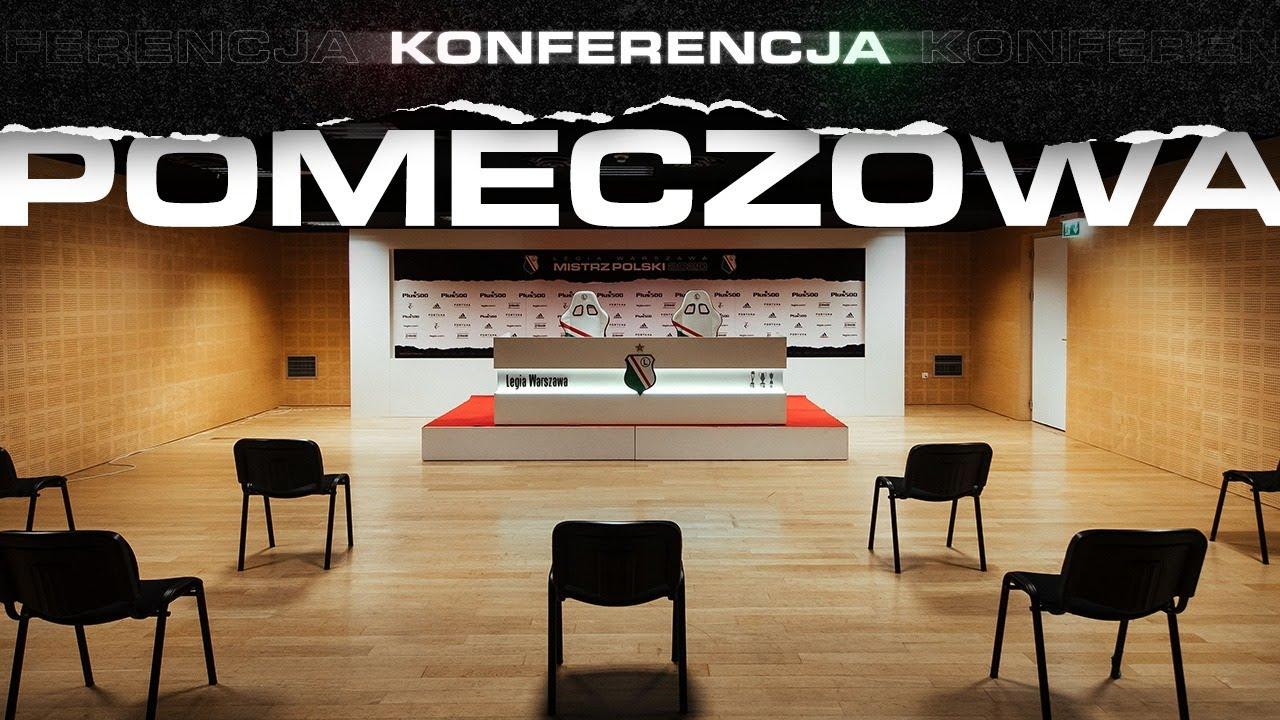 Konferencja po meczu Legia Warszawa - Wisła Płock