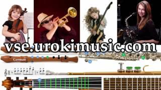 Как играть на Саксофоне  К#1 Р#1 У#4 самоучитель уроки обучение ноты школа курсы