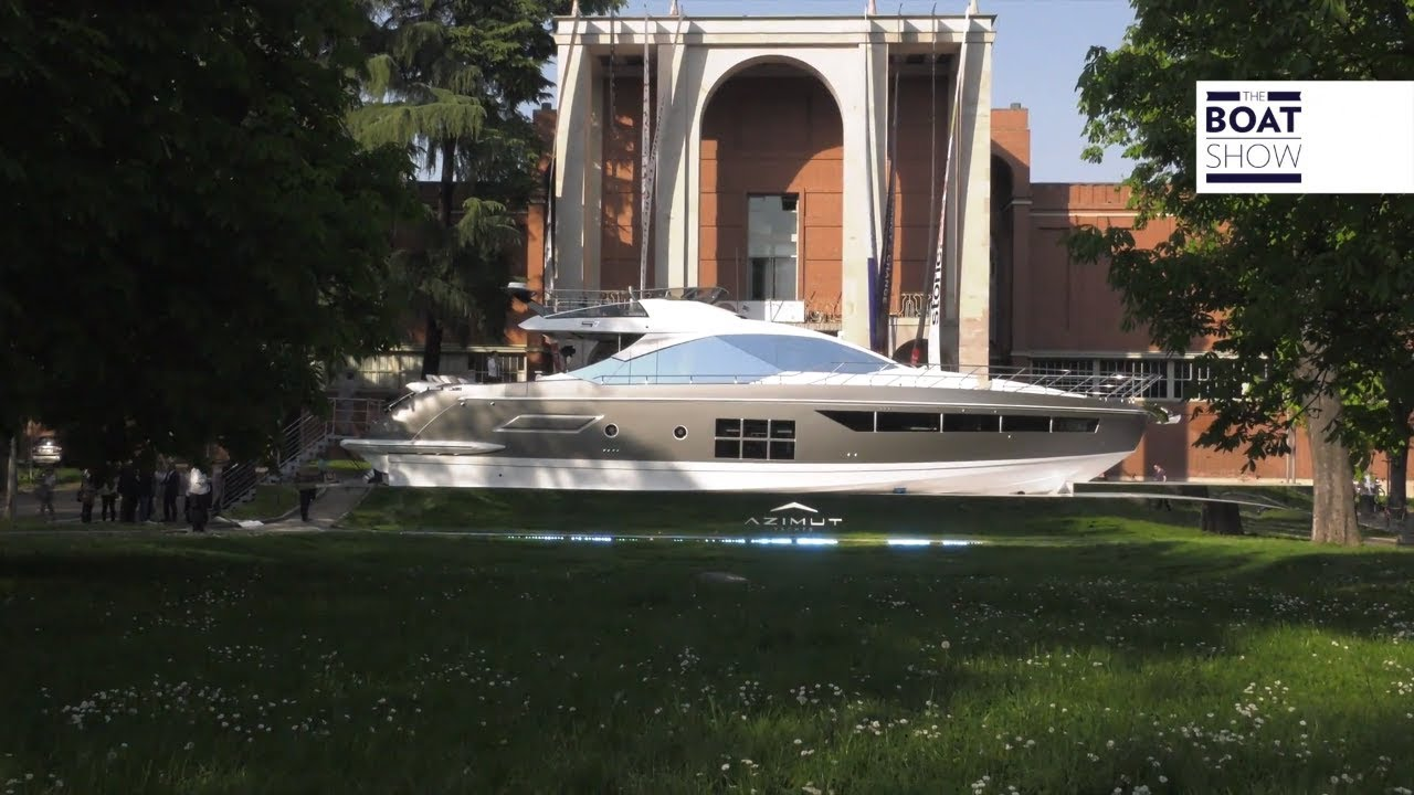 Azimut triennale design week 2018 the boat show youtube for Yacht design milano