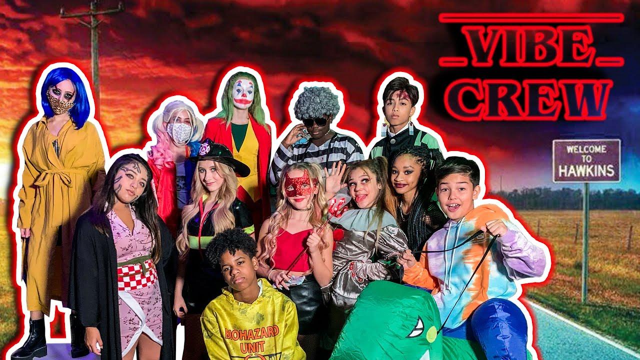 Vibe Crew HALLOWEEN INSTAGRAM Costume PARTY Bash STRANGER THINGS HARRY POTTER