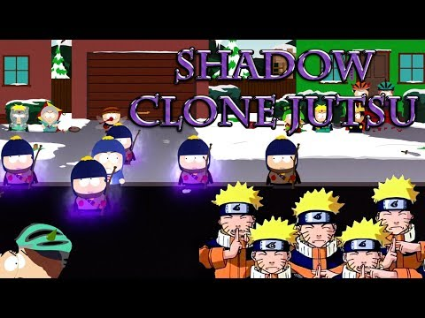 Craig uses Naruto Shadow Clone Jutsu - South Park The Fractured But Whole Game |