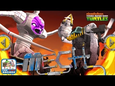 Teenage Mutant Ninja Turtles: Mech - Kraang Prime VS Turtle Mech (Gameplay, Playthrough)