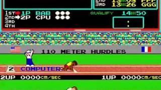 Hyper Olympics Vers.1 [1983]  KONAMI  (Arcade game)
