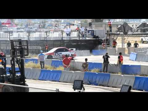 ESTABRAQ KAMAL - Redbull Car Park Drift 2013