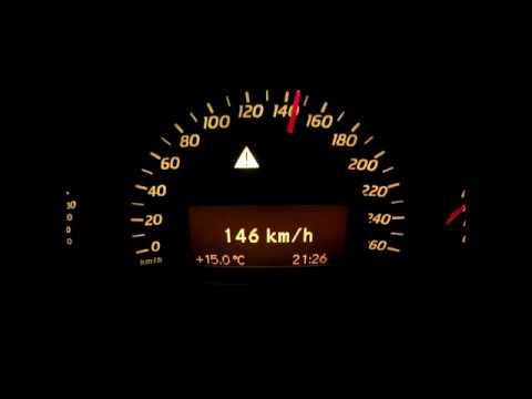Mercedes W203 C180 Kompressor 100-200 km/h