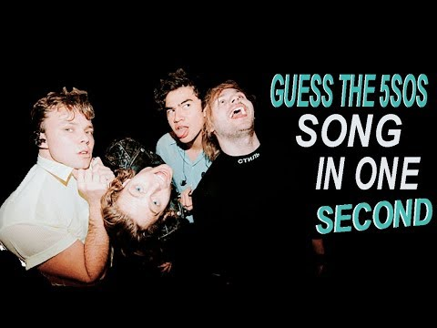 GUESS THE 5SOS SONG IN ONE SECOND | YOUNGBLOOD VERSION