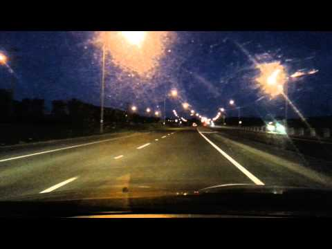 POV - New Plymouth to Waitara - car drive.