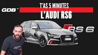 Gambar cover T'AS 5 MINUTES : L'AUDI RS6