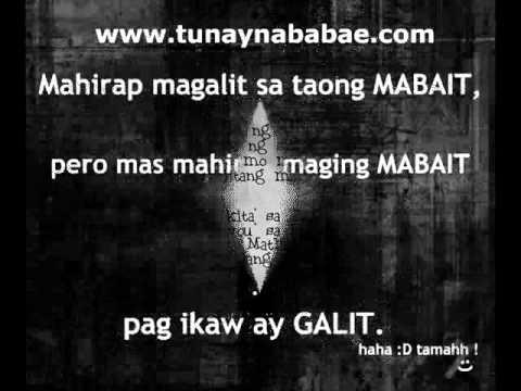 Tagalog Quotes & Banats