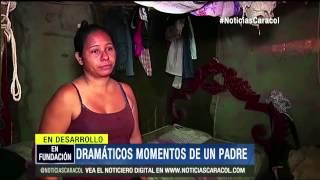Repeat youtube video Padre sacó a su hijo sin vida de bus en llamas y llevó el cuerpo a su casa - 21 de Mayo de 2014