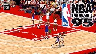 NBA LIVE 95 - (PS2) - 2014 Gameplay! | Miami Heat vs LA Lakers
