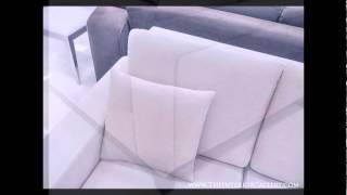 Modern Sofa Set - Convertible Sofa - Light Beige - Narissa