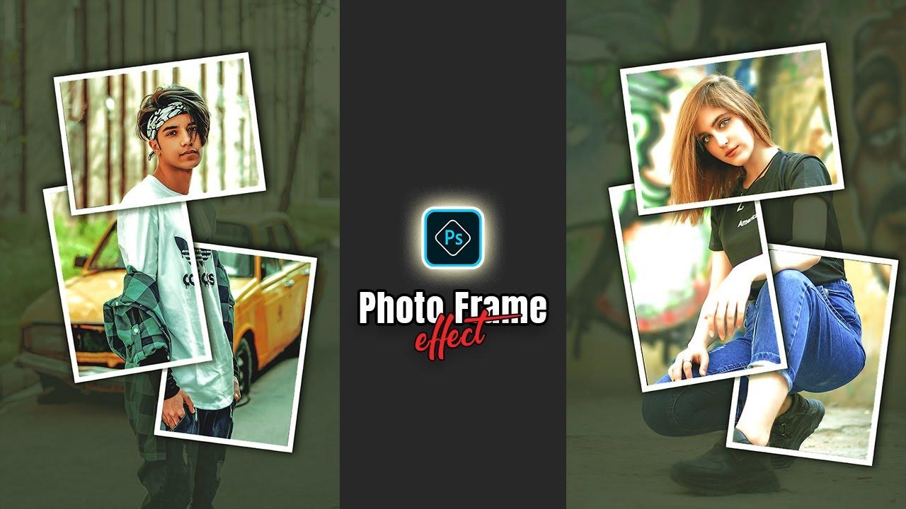 Photo Frame Effect Editing|Photoshop CC Tutorial