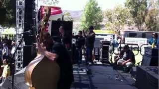 Three Bad Jacks at the Hootenanny 2012 preforming Ace of Spades and Scars