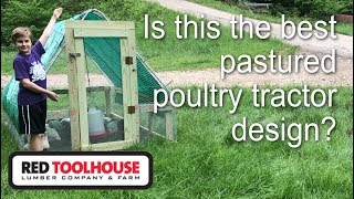Ep 31: We review the Suscovich Chicken Tractor design