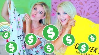 The Shopping Challenge 2017! Bestfriends Buy Outfits for Eachother!