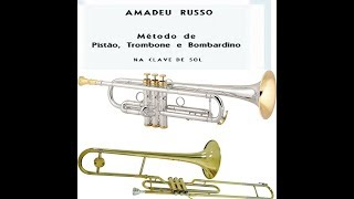 metodo amadeu russo trumpet in bb pag 42 est melo fa maior