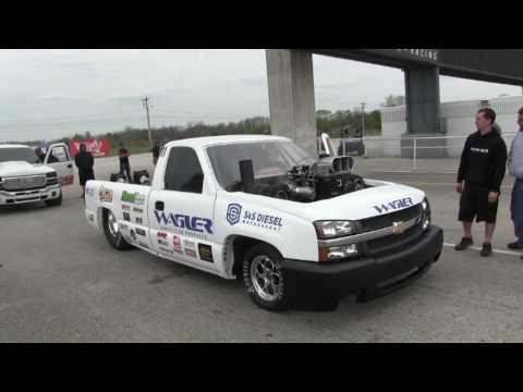 """Wagler """"Shop Truck"""" Drag Racing at UCC 2017"""