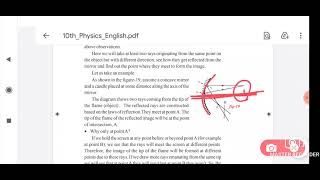 "(in telugu) ""Reflection of light "" part  3 chap 3 class 10 physics"