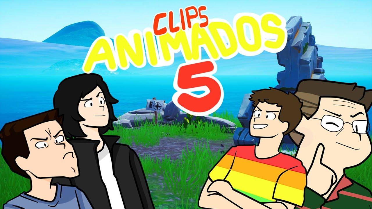 CLIPS ANIMADOS 5 / JUAN, BARCA, ROBERTO Y DED ANIMADO