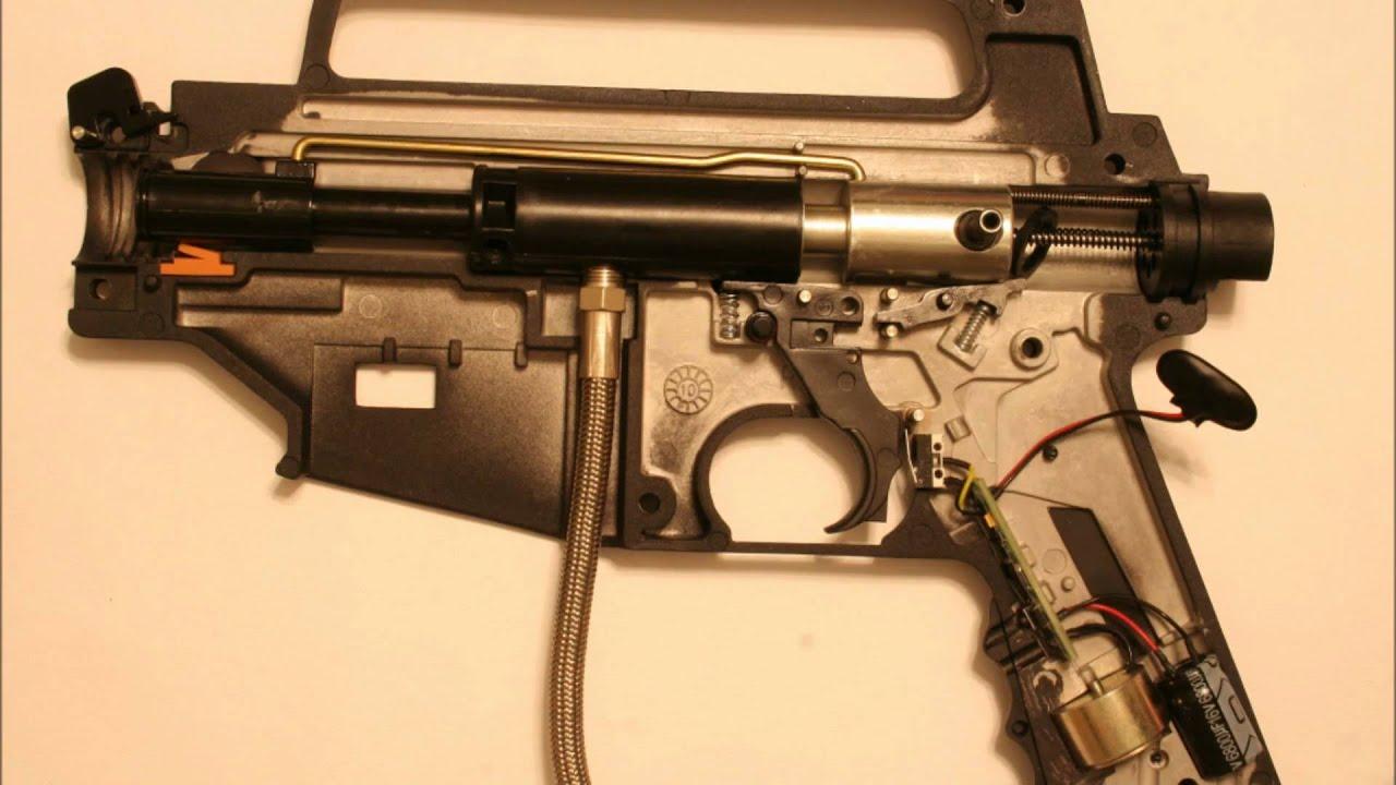 Tippmann 98 Paintball Gun Custom Platinum Series Act Diagram