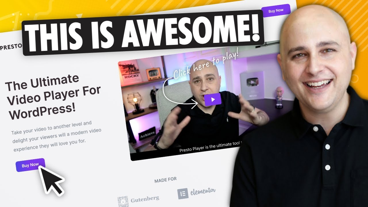 The Best WordPress Video Player Is Here - Introducing Presto Player, My New Product!