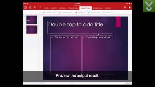 Video Microsoft PowerPoint for iPad - Show, create, and edit PowerPoints - Download Video Previews download MP3, 3GP, MP4, WEBM, AVI, FLV Maret 2018