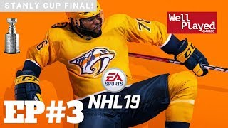 NHL 19 Stanley Cup Finals Ep3 W/ Air Val (Gameplay Series)