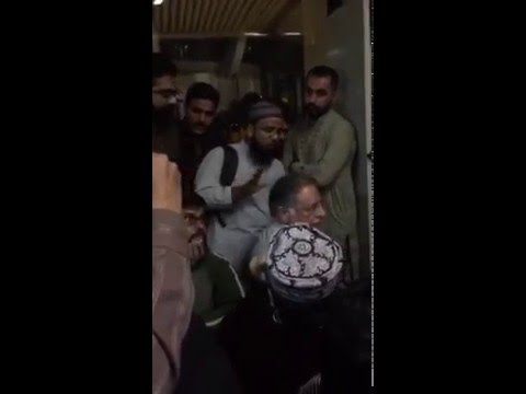 No words to describe this Pervez Rasheed opn Karachi Airport