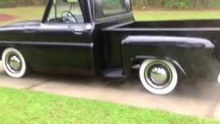 "64' Chevy C10 Rat Rod ""Back in Black"" Hot Rod"