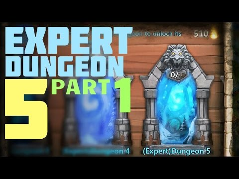 Castle Clash: Expert Dungeon 5 - Level 1 2 3