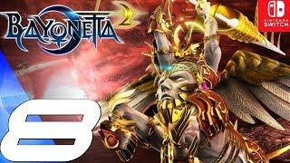 BAYONETTA 2 - Gameplay Walkthrough Part 8 - Alraune & Balder Boss Fight (Remastered) Switch