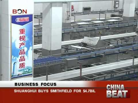 Shuanghui buys Smithfield for $4.7bil- China Beat - May 30 ,2013 - BONTV China