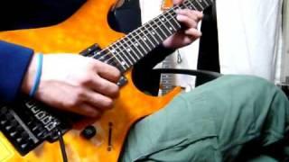 """情熱大陸ギターで弾いてみた。Jyounetsu-Tairiku"""" Play the Guitar ogamaru5751"""