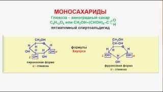 № 129. Органическая химия. Тема 21. Углеводы. Часть 3. Моносахариды. Глюкоза