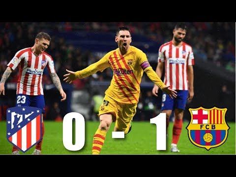 Atletico Madrid Vs Barcelona [0-1], La Liga 2019/20 - MATCH REVIEW
