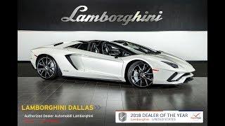 2019 Lamborghini Aventador S Roadster Balloon White 19L0113