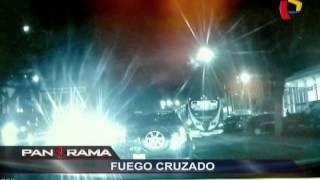 Fuego cruzado: balaceras por doquier en Lima