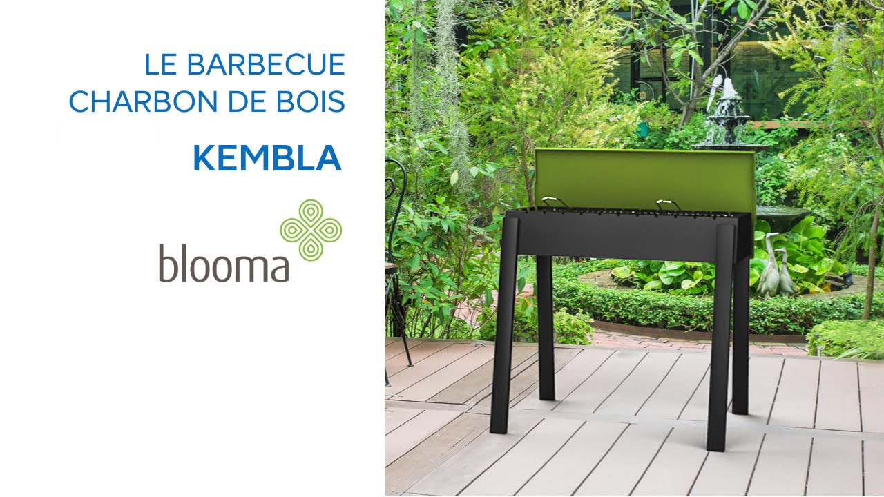 barbecue charbon de bois kembla blooma 619560 castorama youtube. Black Bedroom Furniture Sets. Home Design Ideas