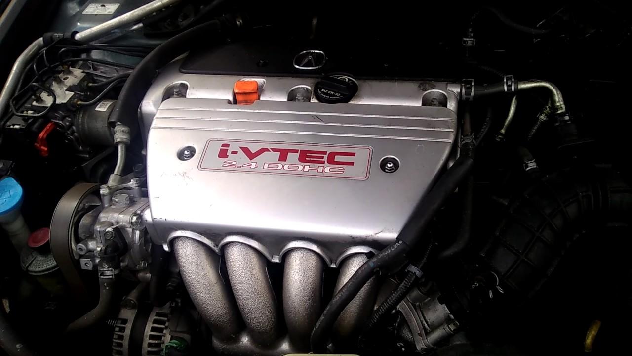 Acura TSX Engine Ivtec YouTube - 2007 acura tsx engine