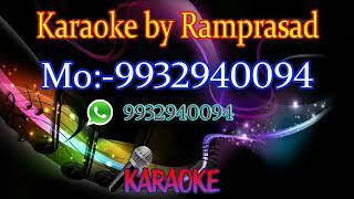 jokhon somoy thomke daray karaoke 9932940094