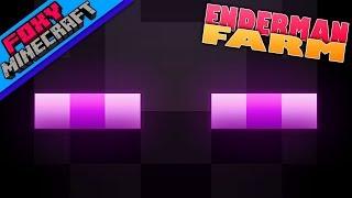Minecraft | ENDERMAN FARM | Foxy's JAVA Survival [126]
