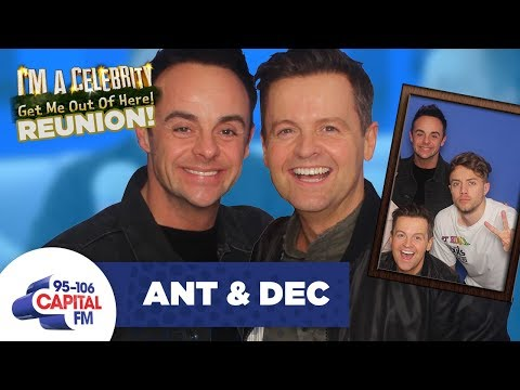 Ant And Dec Reunite With Roman Kemp After I'm A Celeb... 🐛 | FULL INTERVIEW | Capital