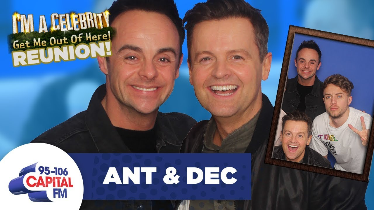 Ant and Dec Reunite With Roman Kemp After I'm A Celeb...