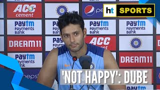 Ind vs WI | 'Will come back in next match': Shivam Dube