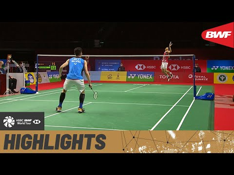 YONEX Thailand Open | Shining examples of standout athleticism from Lee Zii Jia and Chou Tien Chen