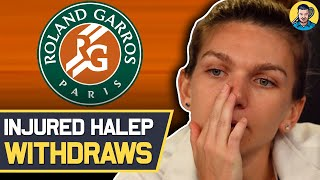 Halep WITHDRAWS from French Open 2021   Tennis News